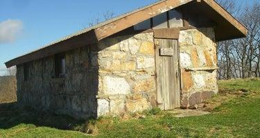 Chestnut Knob Shelter, Appalachian Trail