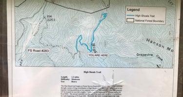 High Shoals Falls Trail Dispersed