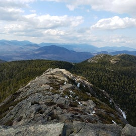 View from the top of Mt. Chocorua, ~1.5 miles from the shelter