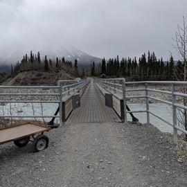 Footbridge into McCarthy, AK