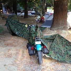 We don't need no tents!