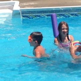 Pool fun.