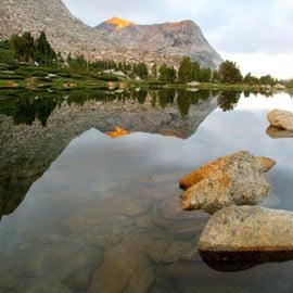 Fletcher lake at sunrise