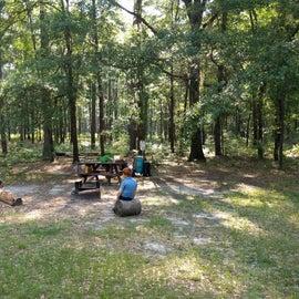 Bluff campsite 3