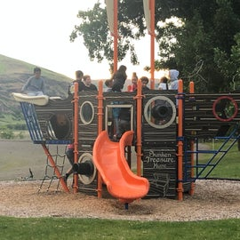 Nice play structure for my kids (we have 9).