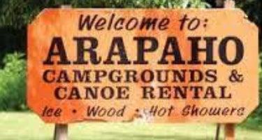 Arapaho Campground, Canoe, Raft Rental