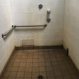 Restroom shower