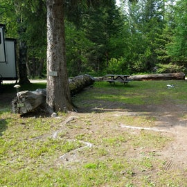 One of the RV Sites