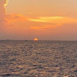 Beautiful bay sunsets