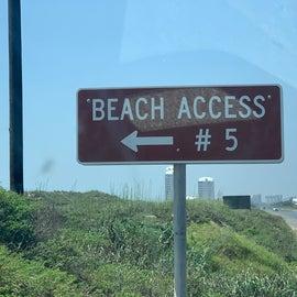 Access entrance