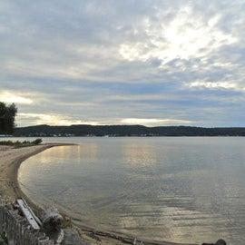 the Lake was actually a bit calm