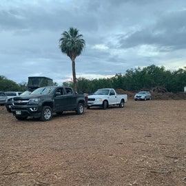 campervan campground area