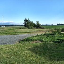 Farmland as far as the eye can see.