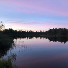 Michigamme River on our site