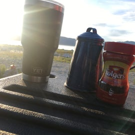 Nothing like camp coffee...