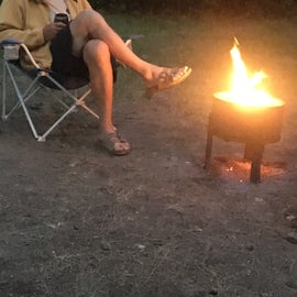Time for a little fire