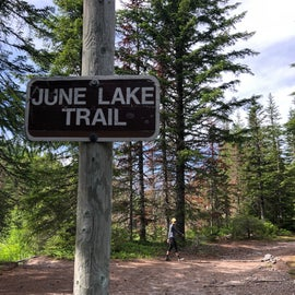 Starting from the June Lake Trail, Pumice Butte is about 6 miles