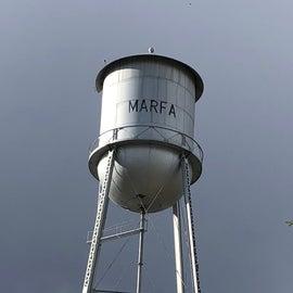 Marfa Watertower