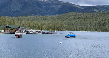 Outlet Campground at Redfish Lake