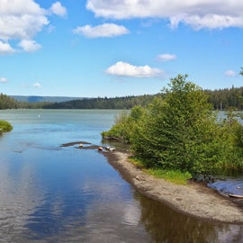 Link creek mouth into Suttle Lake
