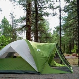 Our home for the night at Quaking Aspen CG