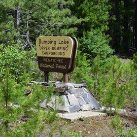 Upper Bumping Lake Campground