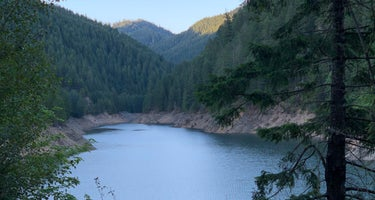 Blue River Reservoir Roadside Camping