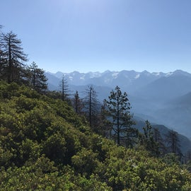 Looking toward the Great Continental Divide