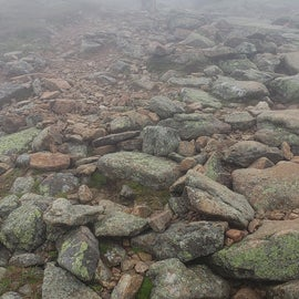 Heading to Mt Lafayette, through the clouds