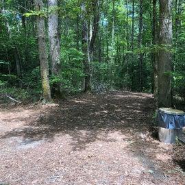 Tent site 1.