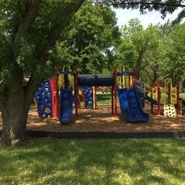 Nice new playground equipment