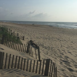 Dunes and beach at Ocean Waves