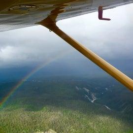 Flight to campground