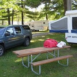 Mitchell State Park Campsite