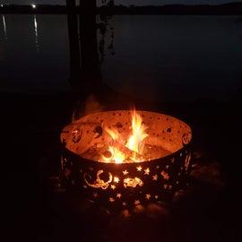 campfire 1st night