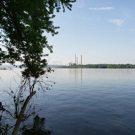 That is the electric plant across the river. It was very loud.