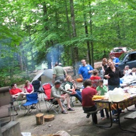 Group dinner at one of our sites.