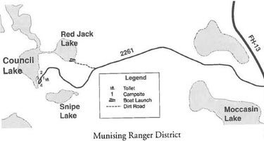 Council Lake Dispersed Campsite