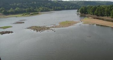 Dam Site (fort Gibson Lake)