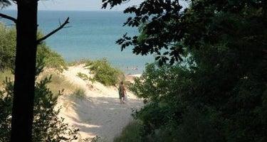 Lake Michigan At Manistee