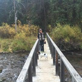 Crossing Hobble Creek