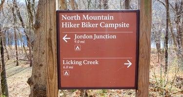 North Mountain Hiker-Biker Overnight (HBO) Campsite