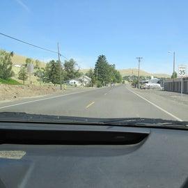 Entering town of Hebron