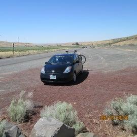 Near crossing of the Oregon Trail