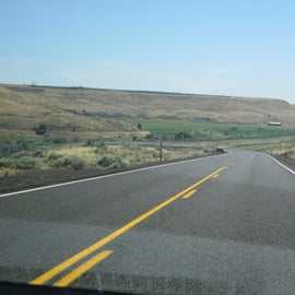 Blue Mountain Byway through Eastern Oregon