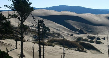 Siltcoos Sand Camping