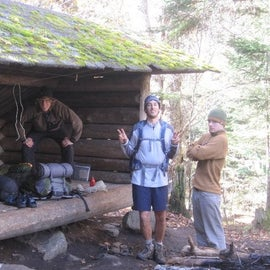 """this is what a """"lean-to"""" looks like"""