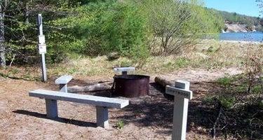 Driftwood Campsite on Grand Island