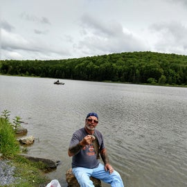A few nice Trout for dinner, Spruce knob lake
