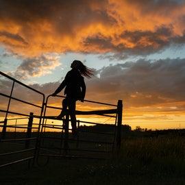 Sunsets here are picturesque. photo: Dave Pavlina @davepavlina